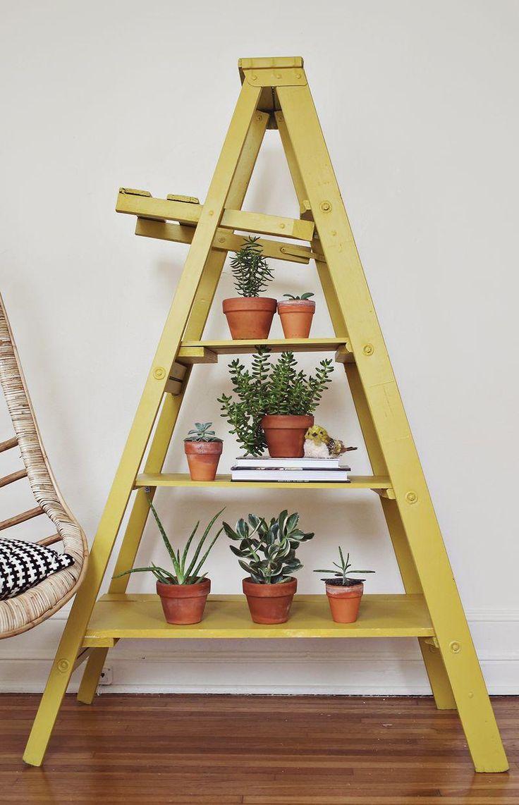 Escada ladder flores 3 decoreba-design