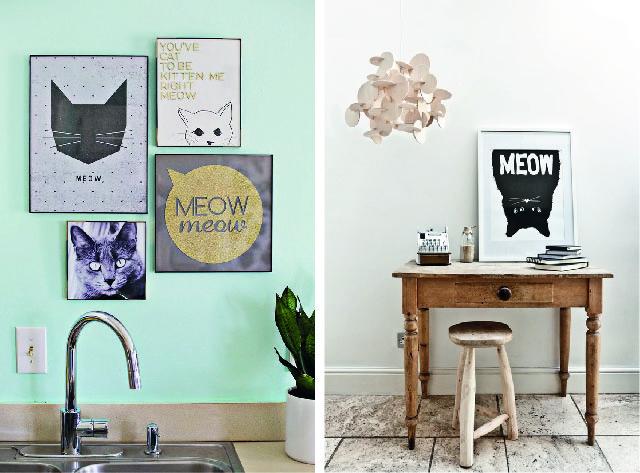casa apaixonados gato duo decoreba design