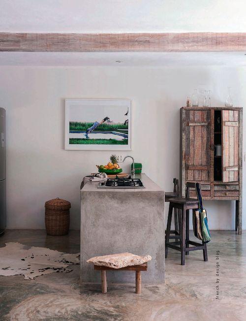 mesa ilha cozinha concreto decoreba-design