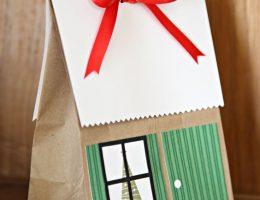 Feliz natal pacote casa