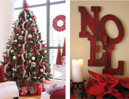 Natal duo vermelho decoreba 2