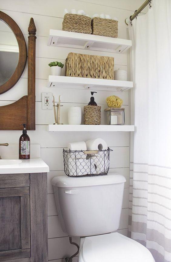 banheiro pequeno decoraba design