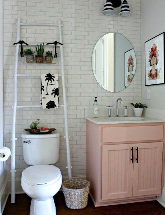 banheiro retro quebra decoraba design