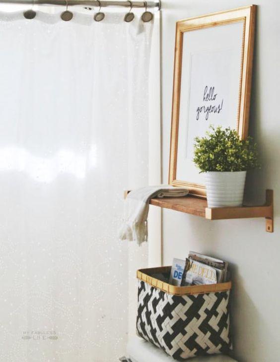 banheiro sem quebra decoraba design