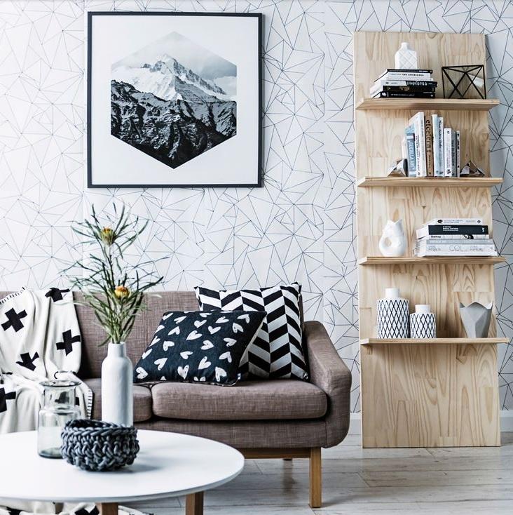 papel de parede sala decoreba design